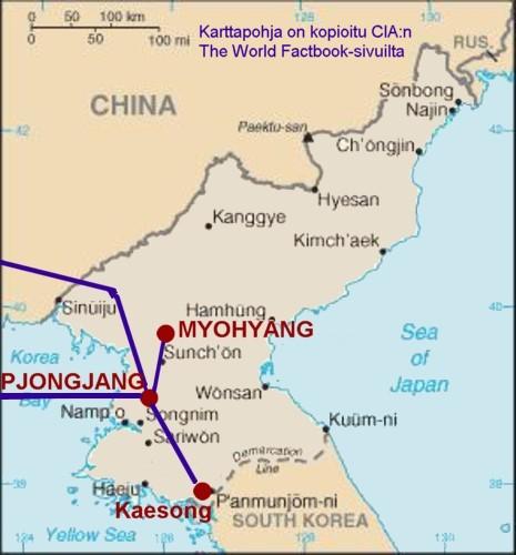 Pohjois Korea 2009